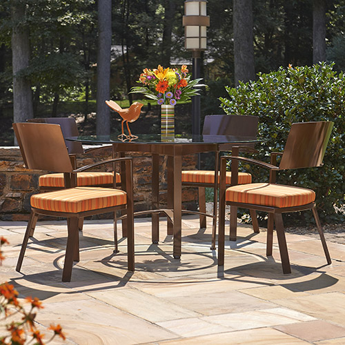 mirage dining set outdoor johnston casuals